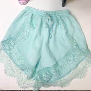 Pants - Lace shorts size 4